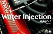 Agua inyección – etapa 1