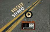 Vintage inspirado Stereo