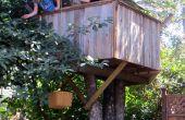 Cómo construir una casa de árbol