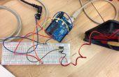 Controlar la velocidad de un ventilador de la C.C. con un iPhone por wifi con Openframeworks