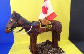 Cómo hacer 3D Pony torta (pastel de caballo)