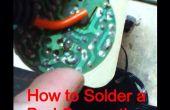 Cómo reparar un mal soldado conexión