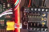 Frambuesa Pi base pared evitando robot - FabLab NerveCentre