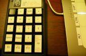 Usar un teclado numérico USB para funciones rápidas de Maya.