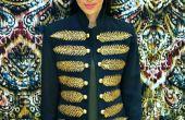 Chaqueta militar de costura DIY