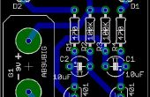 """Hacer aficionado PCB con herramientas profesionales de CAD mediante la modificación de """"Normas de diseño"""""""