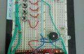 Domótica con transmisor-receptor del RF con Arduino Micrcontroller