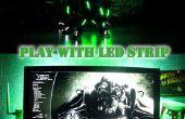 Jugar con la tira de LED