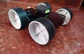 ROBOT ANDROID controlado detección de minas