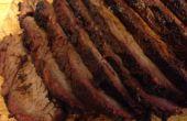 Ahumado de carne en barbacoa hoyo sin caja para ahumar