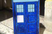 Hacer un TARDIS fácil: la caja azul