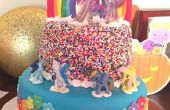 Doble arco iris mi torta de Pony poco