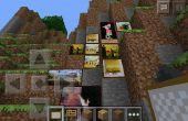 Cómo hacer una habitación oculta en Minecraft PE