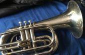 Cómo jugar al barítono que marcha también conocido como la trompeta de guerra