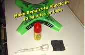 10 minutos Kit de reparación de plástico ~ estilo McGyver