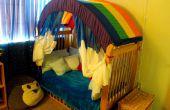 Hacer un pabellón del arco iris para la habitación de su hijo