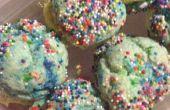 Pastel de sándwiches de galleta Mix