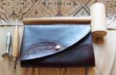DIY Leather Tablet Case