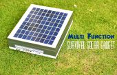 Gadget Solar de múltiples funciones de supervivencia con un presupuesto
