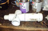 Accionadas por aire la válvula de agua del PVC