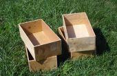 La caja de pie cúbico - otra solución de almacenamiento