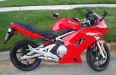 Montar una motocicleta