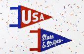 DIY: Estrellas y rayas banderín