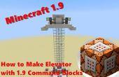 Cómo hacer el elevador con los bloques de Minecraft 1.9 comando