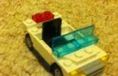 Simple vehículo de la policía de Lego