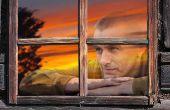 Crear realistas, fuera de ventana reflejos en Photoshop