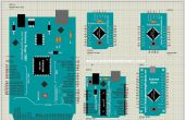 Arduino Nano, Pro, mini, Uno, biblioteca 1280,2560 de Proteus (versión actualizada)