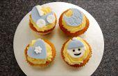 Cómo hacer bebé lindo Cupcake Toppers