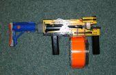 El primer completamente automático, clip fead, LEGO Nerf pistola: Raptor CS-35