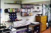 Colgante hecho de Longboards de estantes