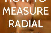 Cómo medir el pulso Radial