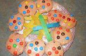Cómo hacer galletas de mezcla para pastel y mantequilla de maní para la animación