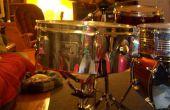 Cómo hacer un pastel de un tambor de la trampa