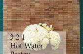 3 2 1 caliente agua pasteles