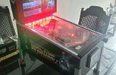 Máquina de pinball analógica escritorio
