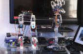 Brazo robótico controlado de movimiento