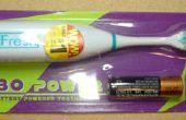 Bot II - de la cerda de un cepillo de dientes eléctrico barato