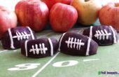Cómo Ramos de flores y frutas hacer Chocolate cubierto fútbol manzanas