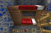 Cama de cucheta de Minecraft