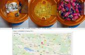 Perseguidor del GPS del tazón de fuente/bolso Halloween
