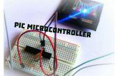 ¿Cómo a parpadear un Led con el microcontrolador PIC?