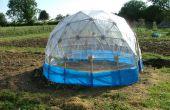 Invernadero geodésico (bajo costo)