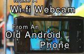 Hacer una Webcam Wi-fi de un viejo teléfono Android