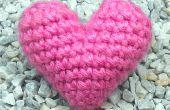 """Corazón de Crochet """"Hinchada"""" 3D"""