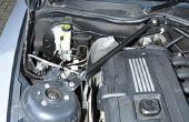 Extracción del módulo de la bomba BMW Z4 E86 DSC ABS.