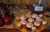 Cupcakes de mantequilla de Harry Potter